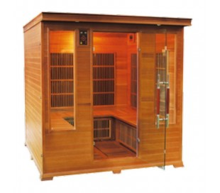 Sauna infrarouge LUXE 4/6 places