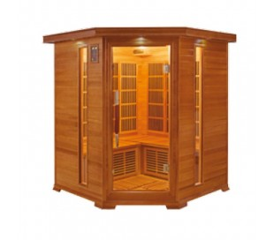 Sauna infrarouge LUXE 3/4 places