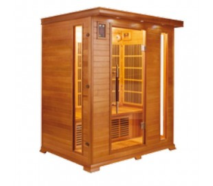 Sauna infrarouge LUXE 3 places