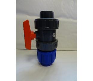 Vanne PE/PVC à coller