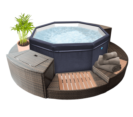 SPA octopus + 5 mobiliers