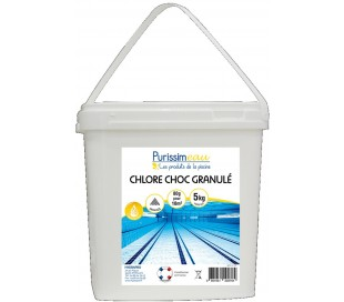 Chlore choc Granule 63 5kg