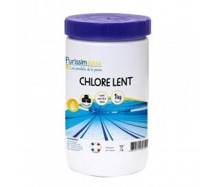 Chlore lent 90/250 1kg