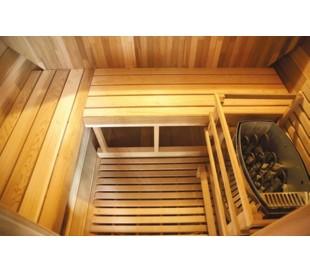 Sauna Gaïa rossa
