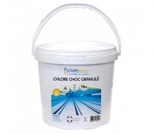 Chlore choc Granule 63 10kg