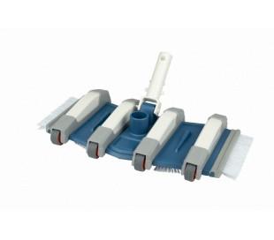 Balai flexible 8 roues 35 cm piscine béton Blue Line